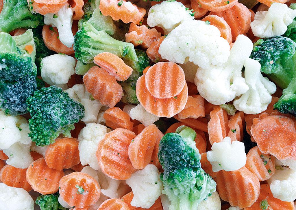 Tiefkühl-Gemüse
