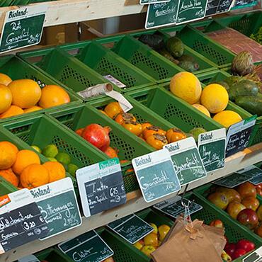 Naturkost-Lebensmittel