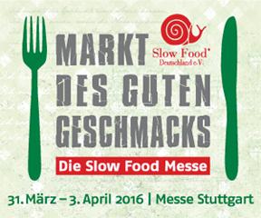 Am 31. März beginnt die Slow-Food-Messe in Stuttgart